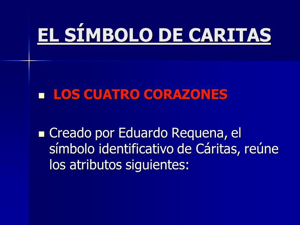 EL SÍMBOLO DE CARITAS LOS CUATRO CORAZONES