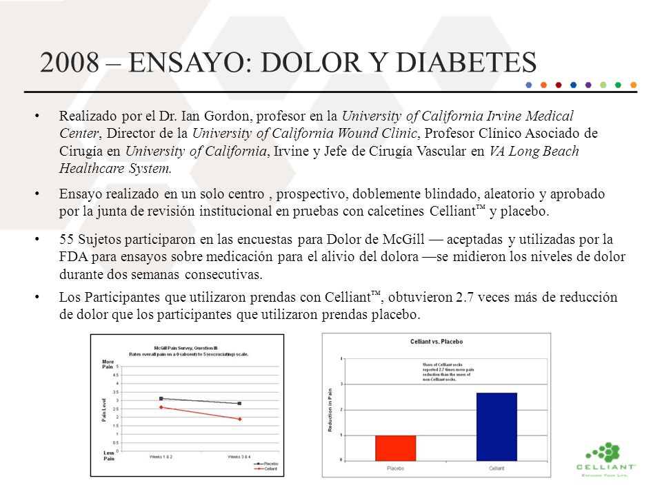 2008 – ENSAYO: DOLOR Y DIABETES