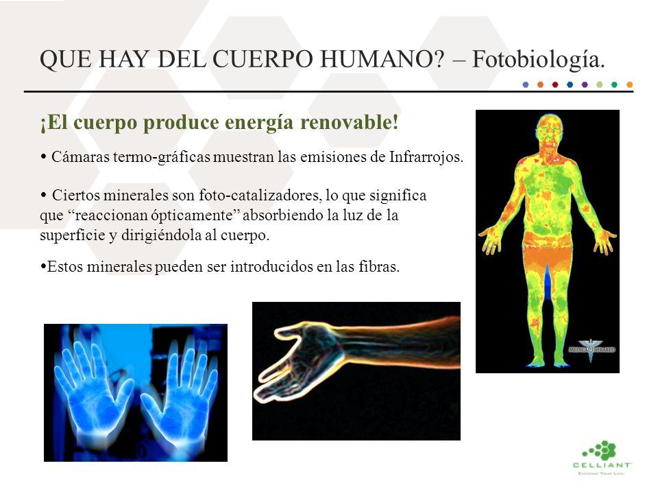 QUE HAY DEL CUERPO HUMANO – Fotobiología.
