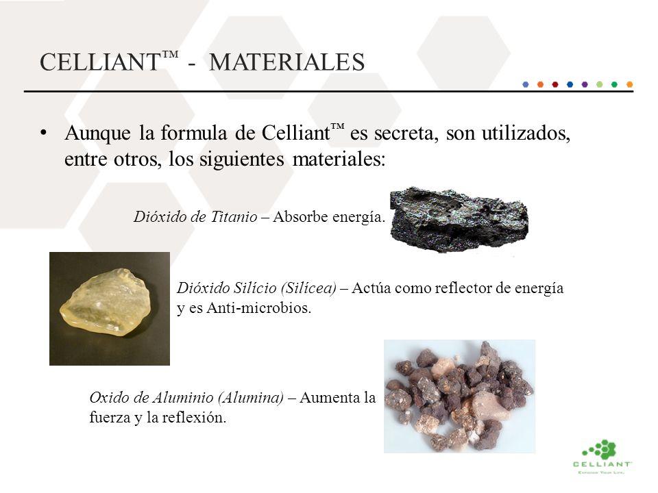 CELLIANT™ - MATERIALES
