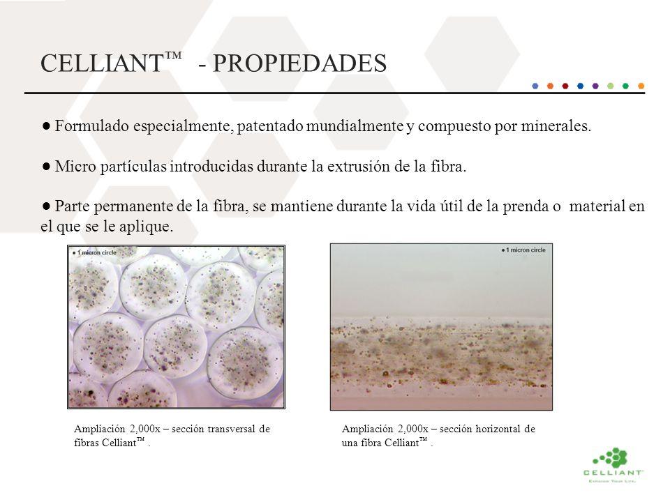 CELLIANT™ - PROPIEDADES