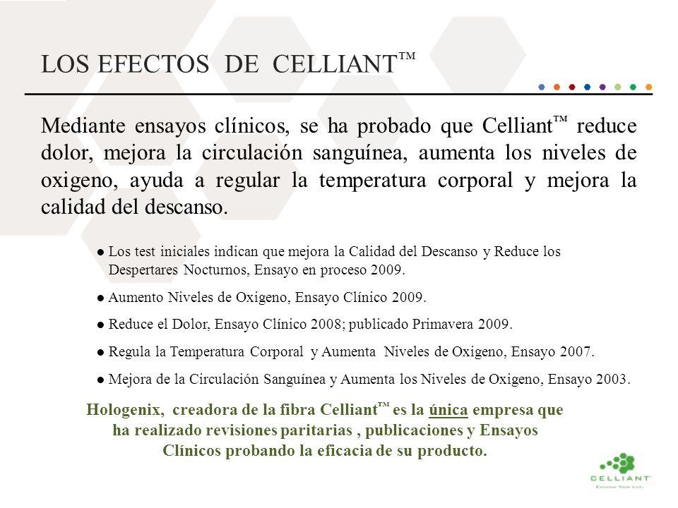 LOS EFECTOS DE CELLIANT™