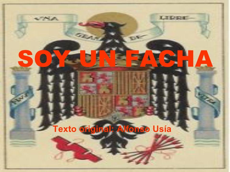 Texto original: Alfonso Usía