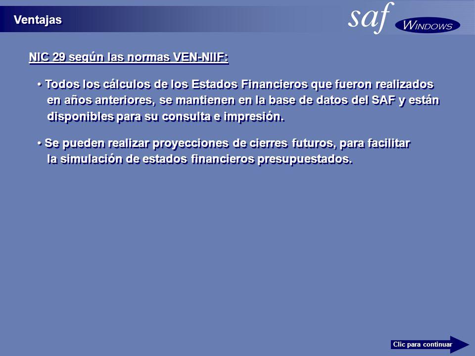 NIC 29 según las normas VEN-NIIF: