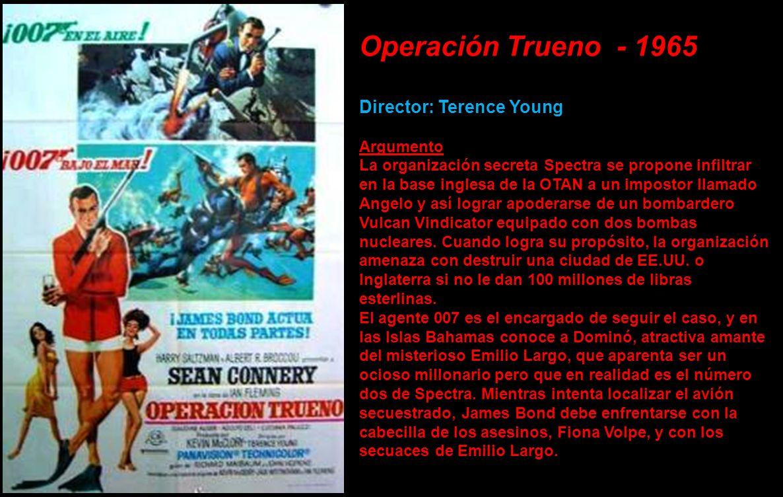 Operación Trueno - 1965 Director: Terence Young Argumento