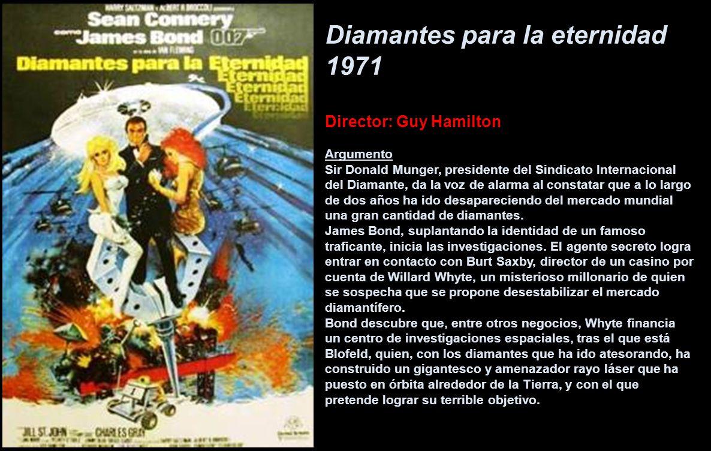 Diamantes para la eternidad 1971