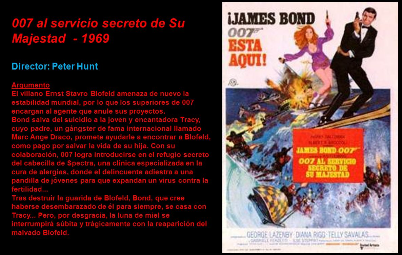 007 al servicio secreto de Su Majestad - 1969