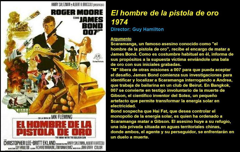 El hombre de la pistola de oro 1974