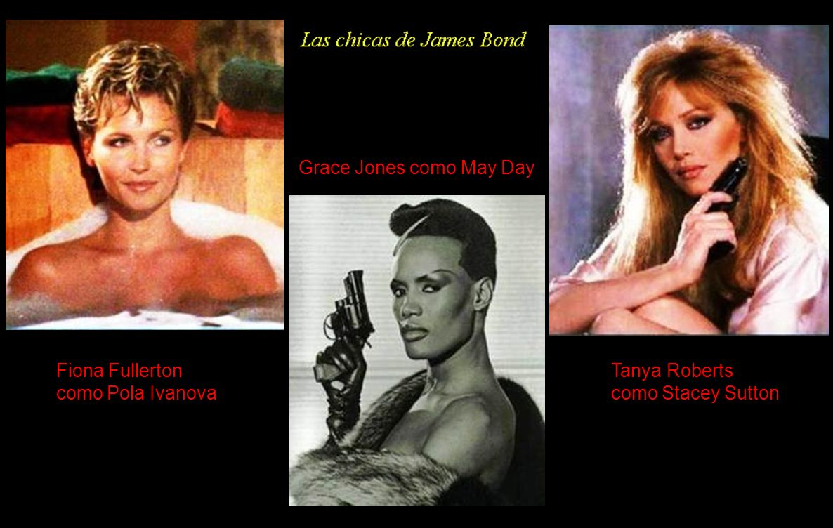 Grace Jones como May Day