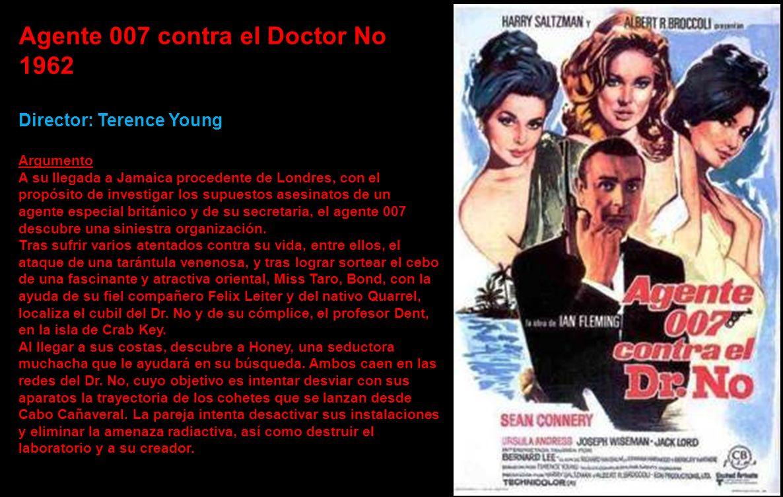 Agente 007 contra el Doctor No 1962