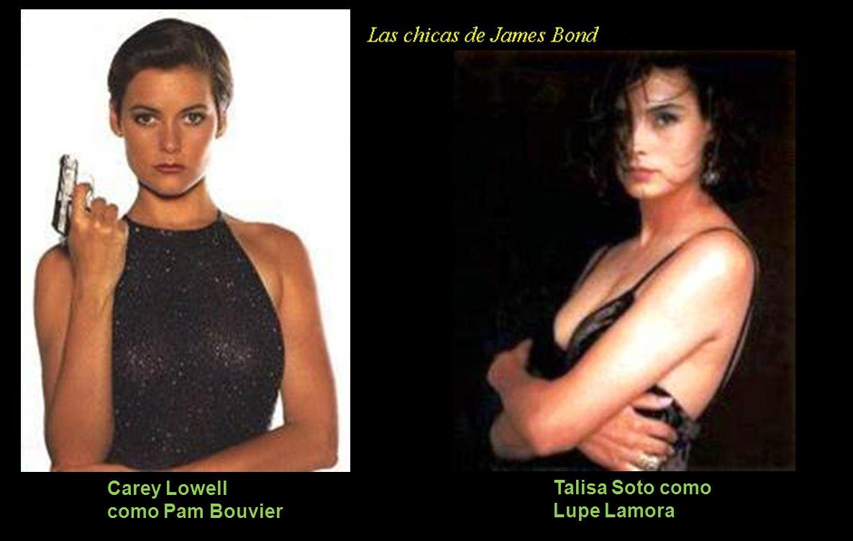 Carey Lowell como Pam Bouvier Talisa Soto como Lupe Lamora