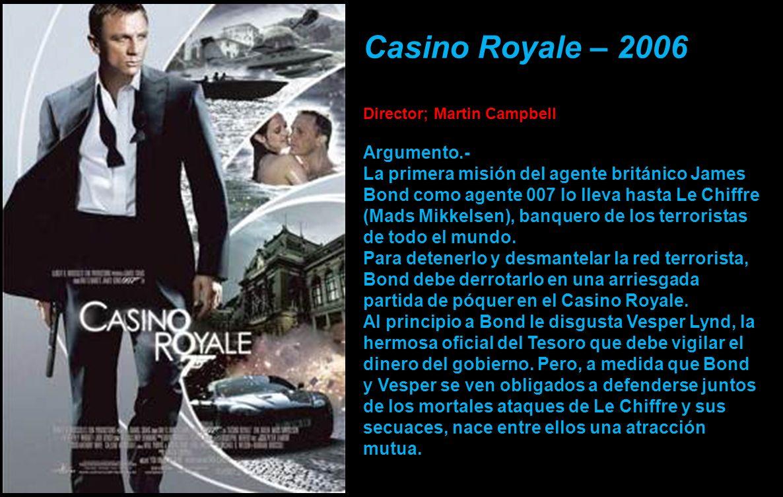 Casino Royale – 2006 Argumento.-