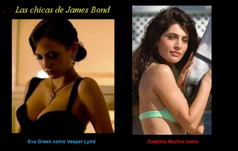 Eva Green como Vesper Lynd