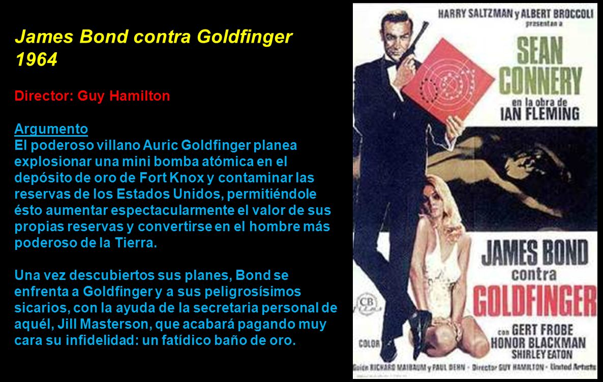 James Bond contra Goldfinger 1964)