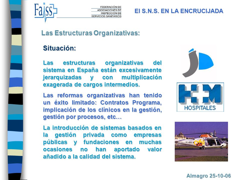 Las Estructuras Organizativas: