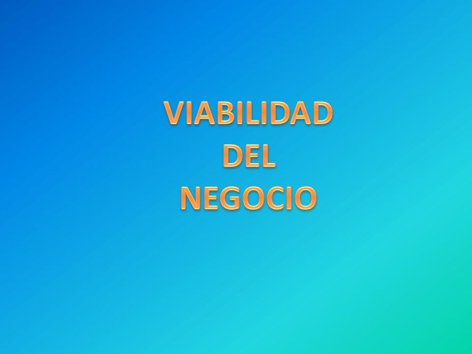 VIABILIDAD DEL NEGOCIO