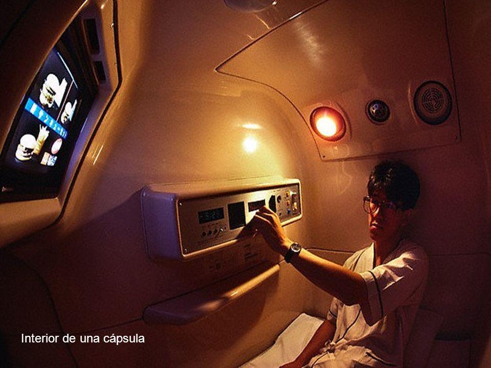 Interior de una cápsula