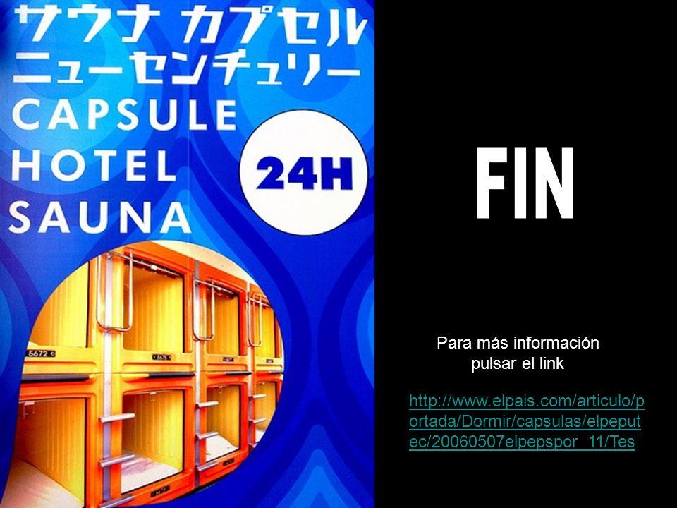 FIN Para más información pulsar el link