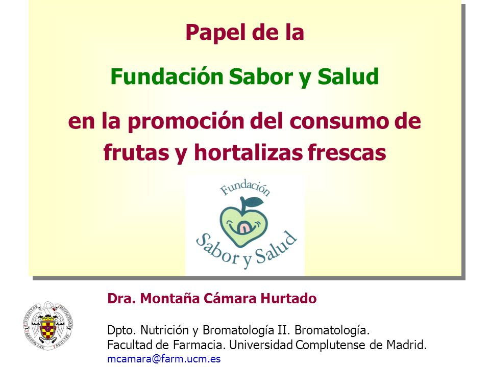 Fundación Sabor y Salud