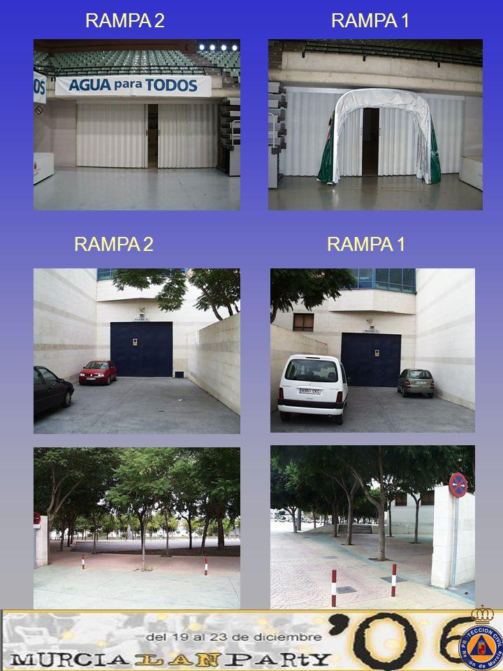 RAMPA 2 RAMPA 1 RAMPA 2 RAMPA 1