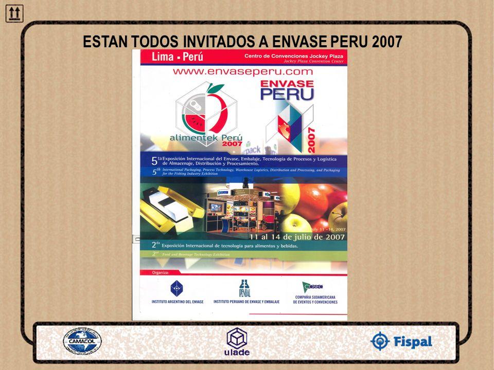 ESTAN TODOS INVITADOS A ENVASE PERU 2007