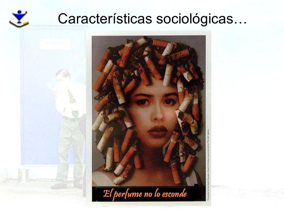 Características sociológicas…