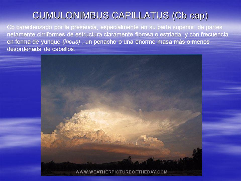 CUMULONIMBUS CAPILLATUS (Cb cap)