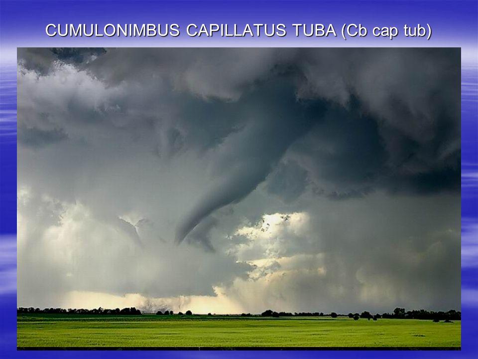 CUMULONIMBUS CAPILLATUS TUBA (Cb cap tub)