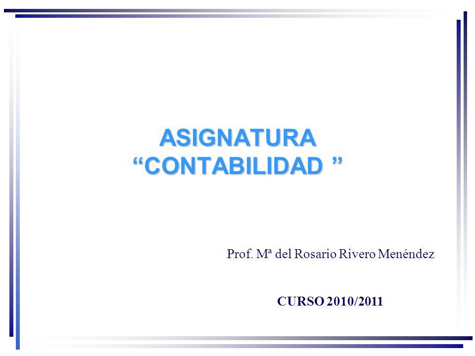 ASIGNATURA CONTABILIDAD