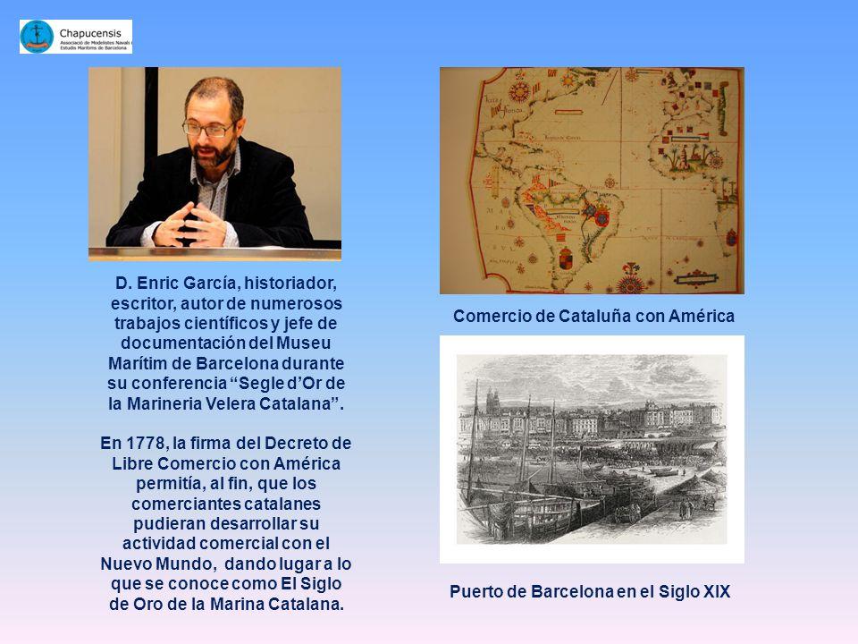 Comercio de Cataluña con América Puerto de Barcelona en el Siglo XIX