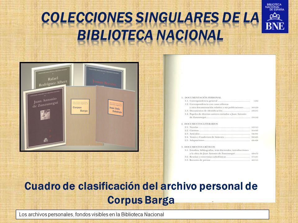 Colecciones singulares de la Biblioteca Nacional