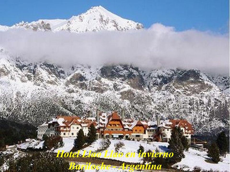Hotel Llao Llao en invierno Bariloche - Argentina