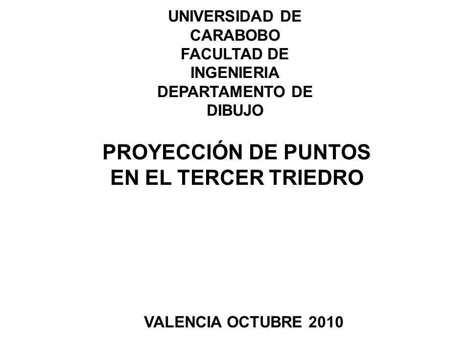 UNIVERSIDAD DE CARABOBO FACULTAD DE INGENIERIA DEPARTAMENTO DE DIBUJO