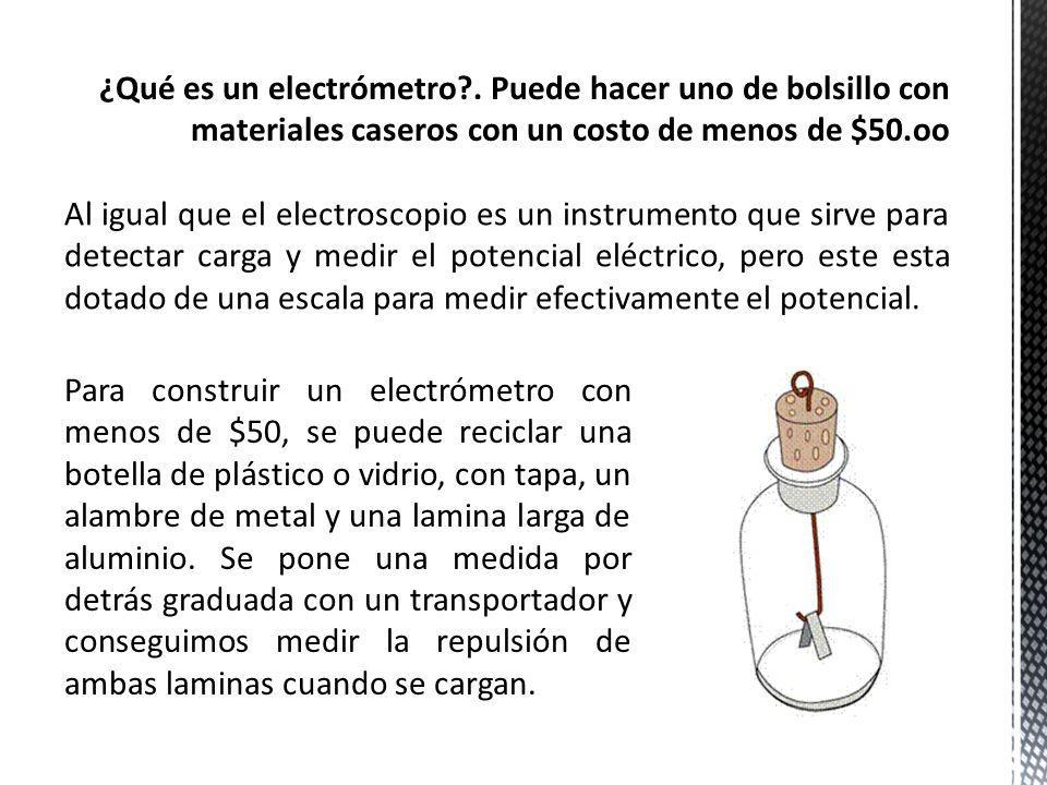 ¿Qué es un electrómetro