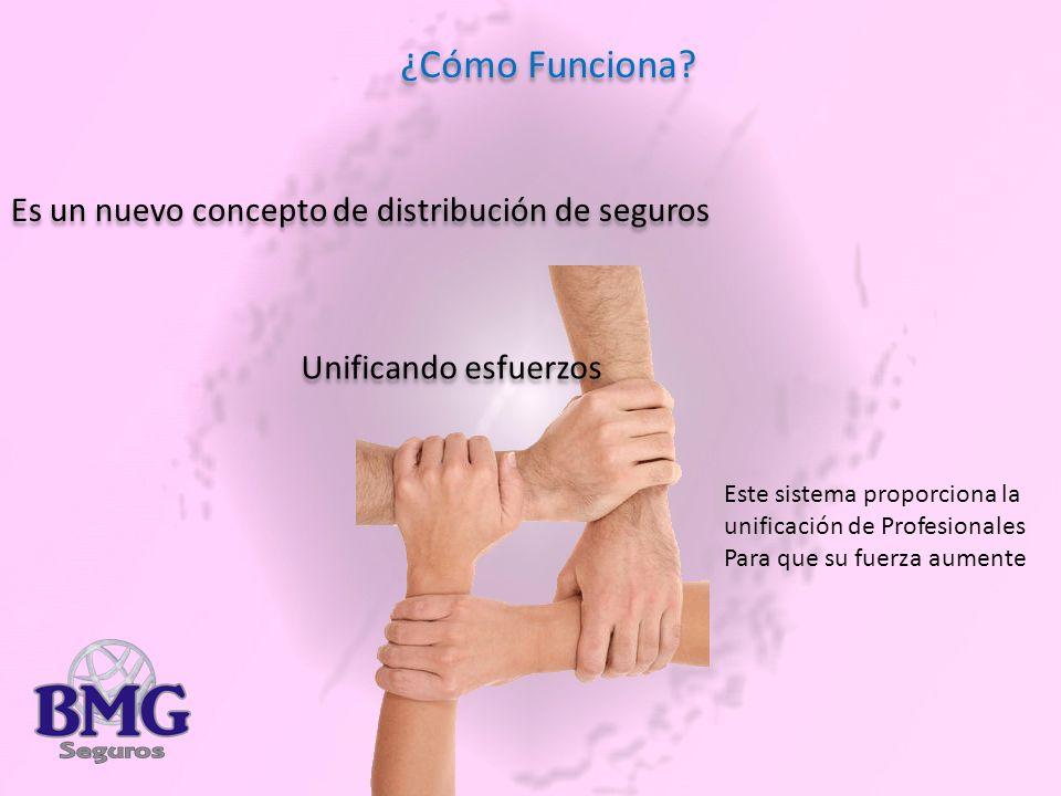 ¿Cómo Funciona Es un nuevo concepto de distribución de seguros
