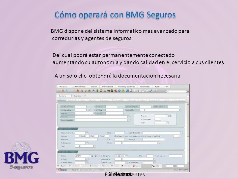 Cómo operará con BMG Seguros
