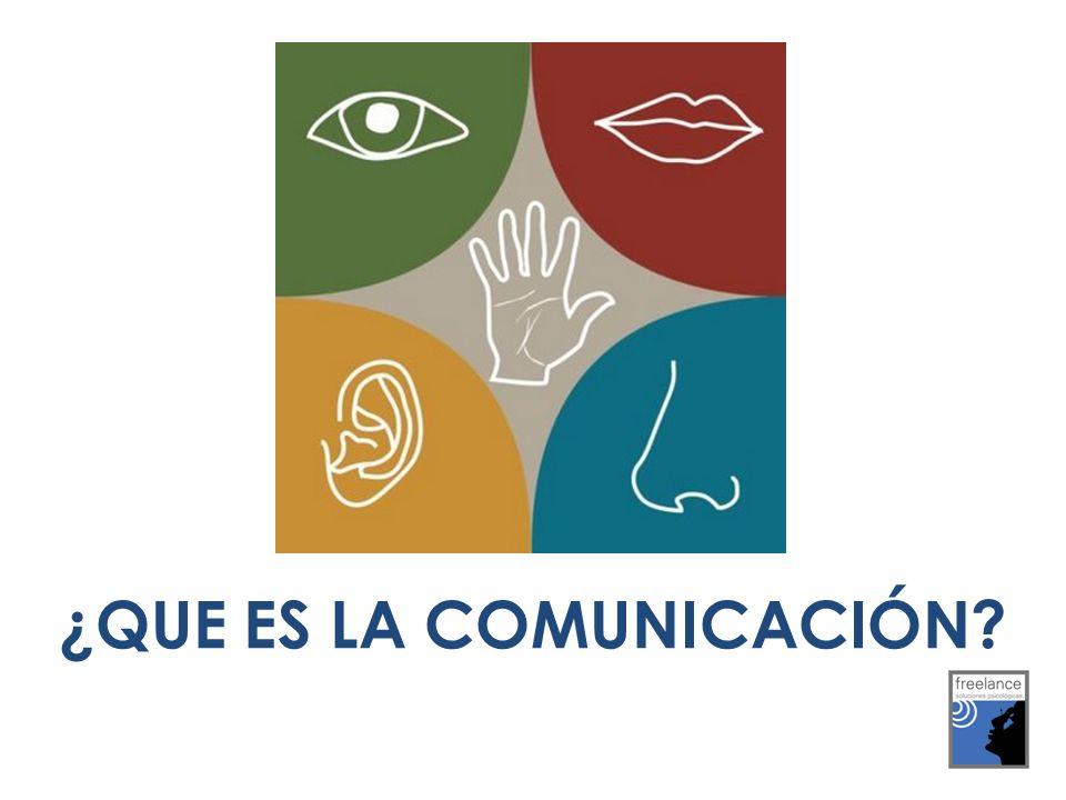 ¿QUE ES LA COMUNICACIÓN