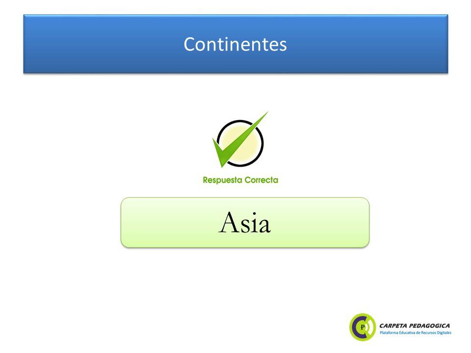 Continentes Asia