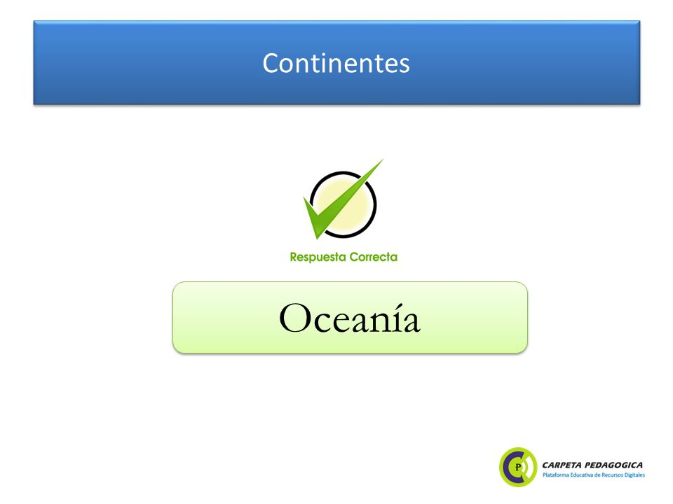 Continentes Oceanía