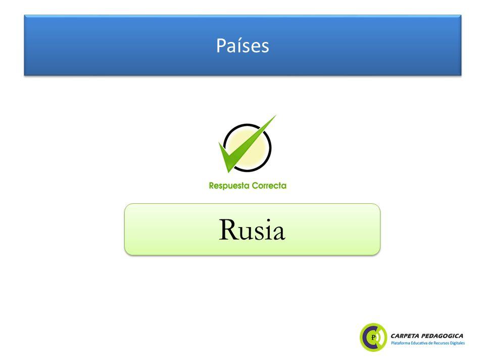 Países Rusia