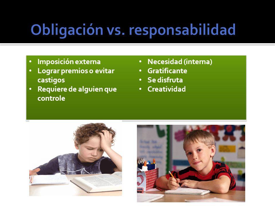 Obligación vs. responsabilidad