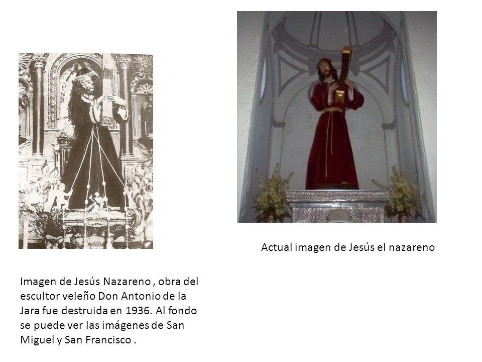 Actual imagen de Jesús el nazareno
