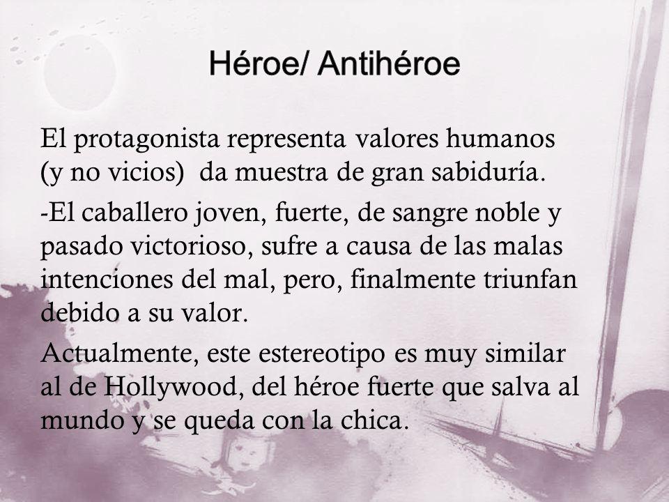 Héroe/ Antihéroe