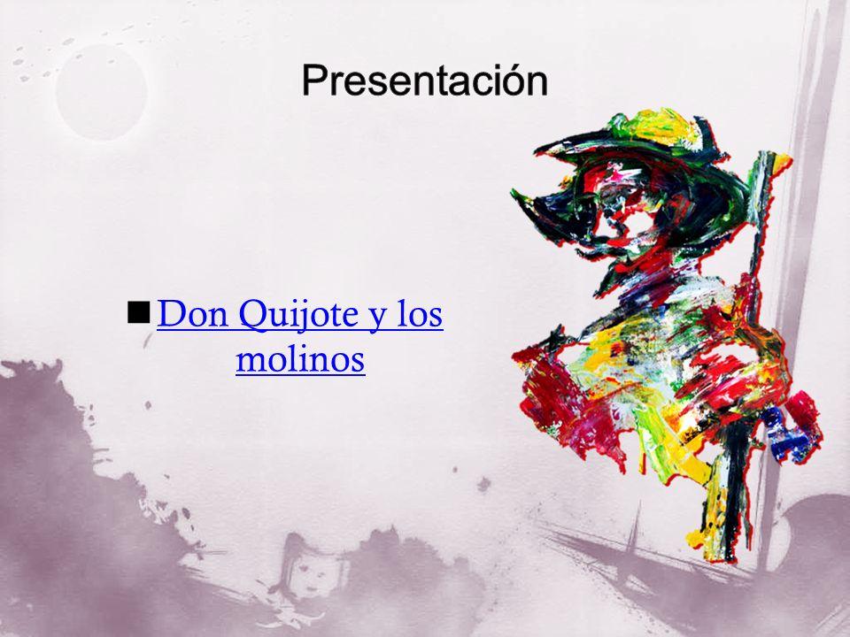 Don Quijote y los molinos