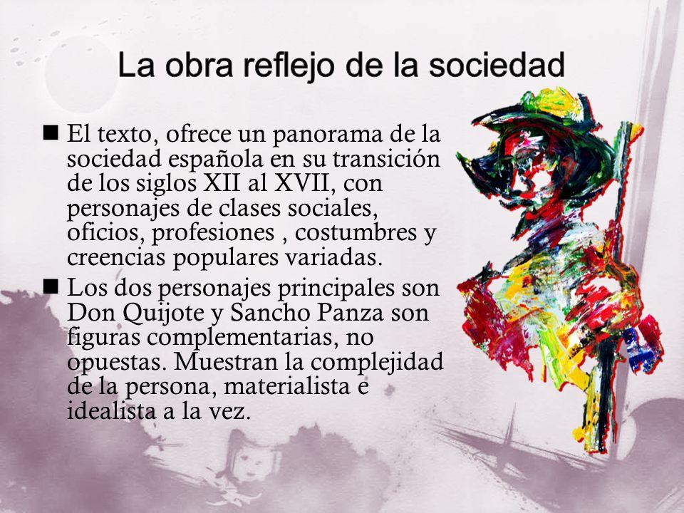 La obra reflejo de la sociedad