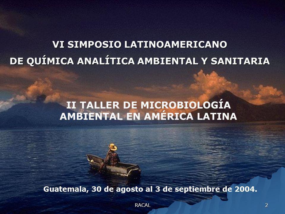 II TALLER DE MICROBIOLOGÍA AMBIENTAL EN AMÉRICA LATINA