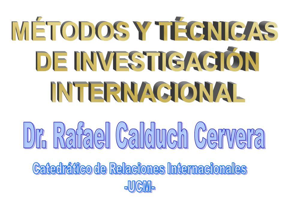 Dr. Rafael Calduch Cervera