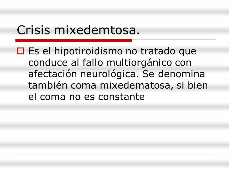 Crisis mixedemtosa.