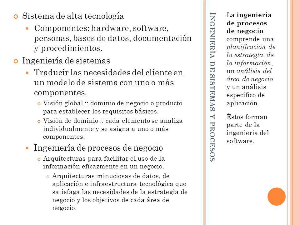 Ingeniería de sistemas y procesos