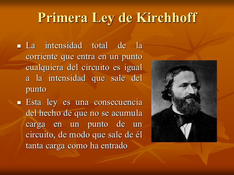 Primera Ley de Kirchhoff